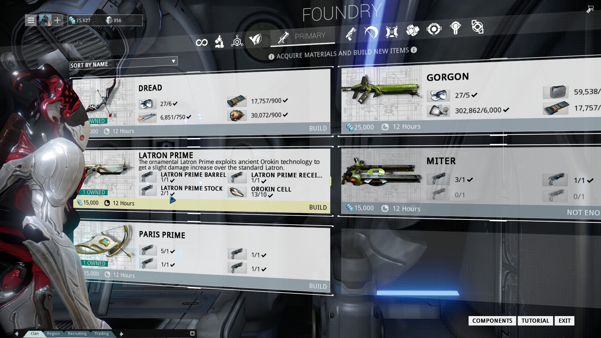 Warframe a beginners guide metadragon within the foundry you can craft new warframes weapons and items but you need malvernweather Gallery