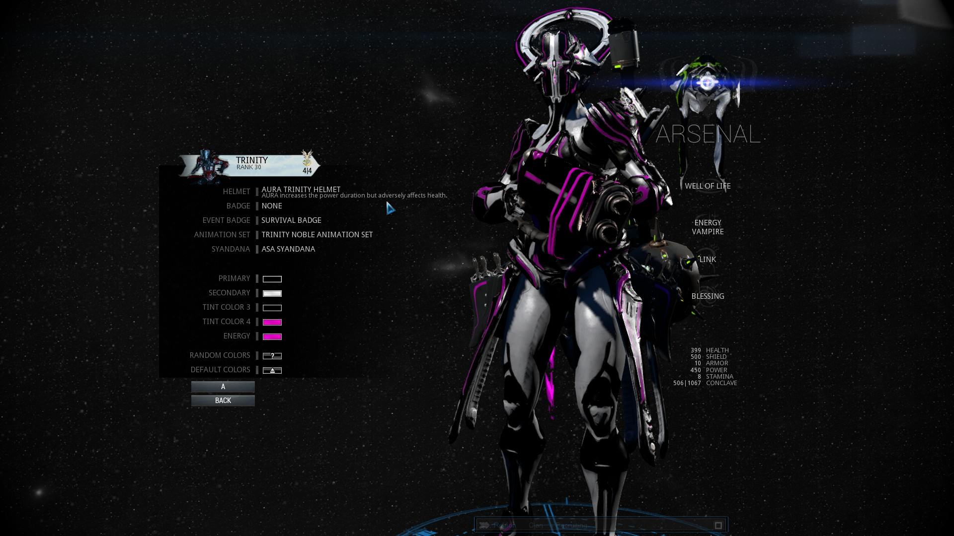 Warframe best weapons 2015 - With The Right Loadout Trinity Can Even Outdamage Other Frames