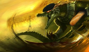 Renekton obviously is french!