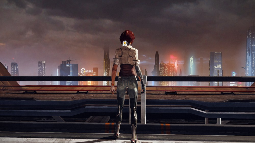 Neo Paris is a world you want to explore. The level design is just spot-on and very diverse.