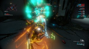 Valkyr is pretty sturdy. Her high armor allows her to get close and personal even with higher level enemies