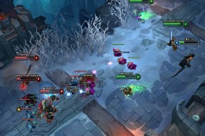 "With new Modes like ""ARAM"" on the Howling Abyss map, League has the potential to set itself apart."