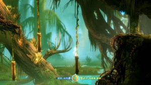 The world of Ori is so detailed that it almost hurts that you run so fast throug it!
