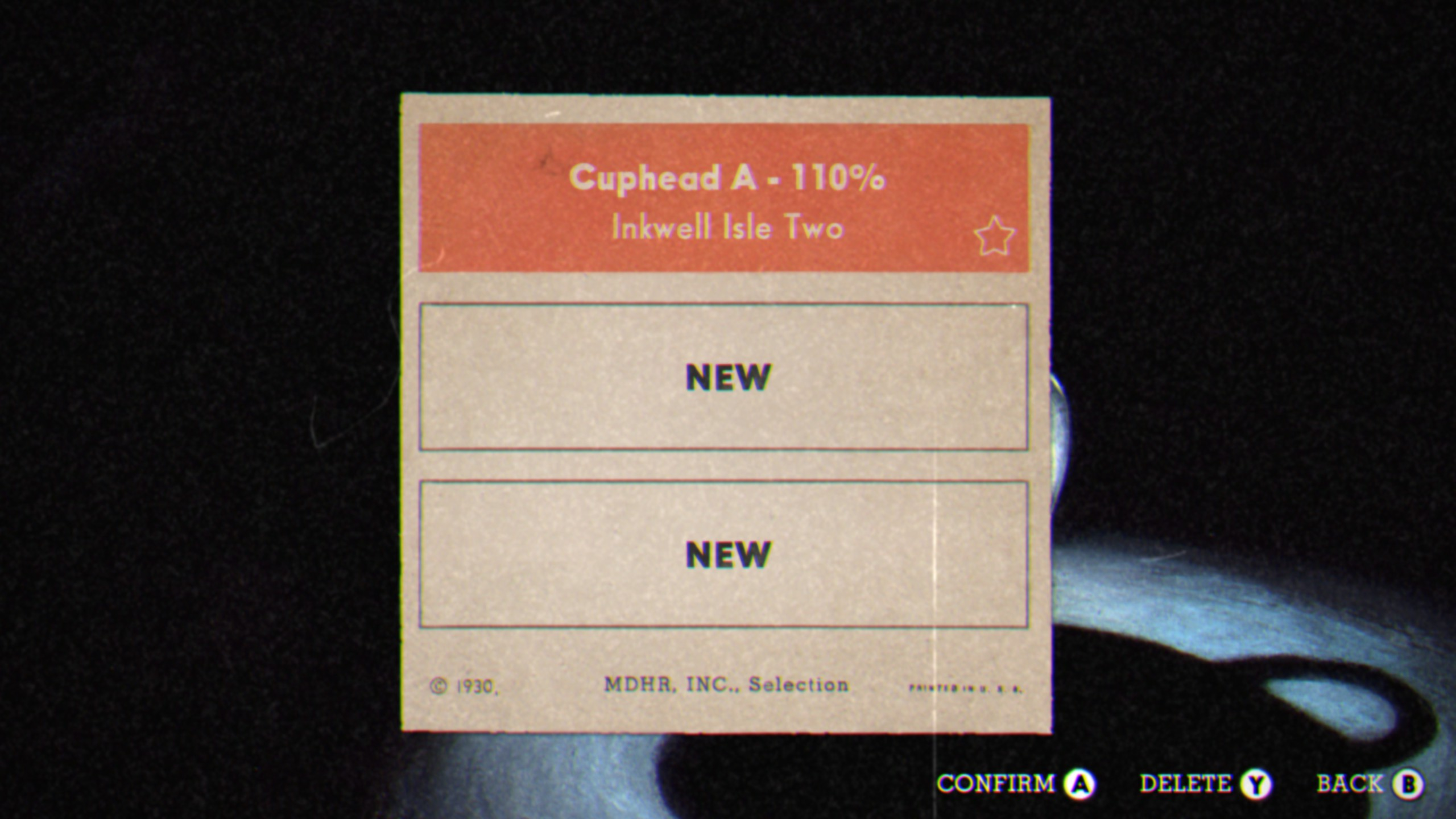 how to choose difficulty cuphead